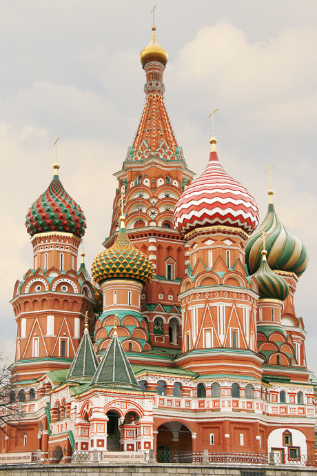 Fine art photography of the Saint Basil's Cathedral