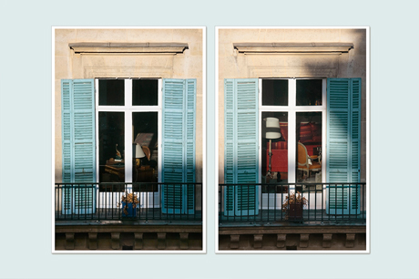 Paris art prints - Set of two art prints -  Diptych photography prints